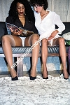 LD86066DVD - DENISE and BARBARA  (ALL STOCKINGS) - Nudity - Adults Only - DVD