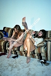 LDC036DVD - PANTYHOSE ANTICS - featuring: BRIDGET and CAMILLE - Nudity - Adults Only - DVD