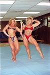 PP011DVD - Real Freestyle Mat Wrestling - featuring Kay Baxter and Jeanne Carson - DVD