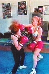 PP202DVD - Female Boxing (Five Bouts) - featuring Autumn, Stacy, Cheryl, Crystal, Sheila and Becky - DVD