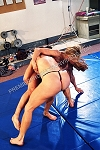 PP250VOD - Topless Girl vs. Girl Mat Action - featuring Lindsay Mulinazzi and Ziggy - Video Download