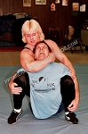 VV16DVD - Real Mixed Mat Action - featuring: Jackie Paisley, Christina Dutkowski, Joan Wood and Michelle L'Ette - (95 minutes) - DVD
