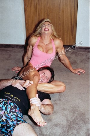 PP105DVD - Mixed Apartment House Wrestling - featuring Denise Rutkowski and Nick - DVD