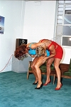 PP133DVD - Topless Girl vs. Girl Cat Fight - featuring Suzan Kaminga and Lee Price - DVD