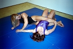PP150VOD - Girl vs. Girl Mat Action - featuring Sonya Fisher and Sara Clark - Video Download