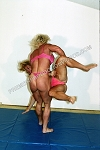 PP198DVD - Girl vs. Girl Mat Action - featuring Lora Ottenad and Kasie Cavanaugh - DVD