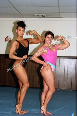 PP037VOD - Real Freestyle Wrestling Action - Gloria Russell, Barbara Martin, Charlene, Lana , Roxanne and Candy Coppola - Video Download